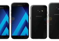 រូបភាព Renders ថ្មីរបស់ទូរស័ព្ទ Samsung Galaxy A5 (2017) និង Galaxy A3 (2017) បែកធ្លាយហើយ!
