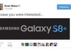 """បែកធ្លាយរូបភាពឡូហ្គោថ្មីដែលបញ្ជាក់ថា ក្រុមហ៊ុន Samsung នឹងមានឈ្មោះហៅថា """"Galaxy S8+"""""""