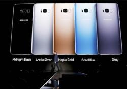 តម្លៃ និងកាលបរិច្ឆេទនៃស្មាតហ្វូន Samsung Galaxy S8 និង Galaxy S8+ បង្ហាញជាផ្លូវការ!