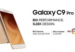 Galaxy C9 Pro កំពូលស្មាតហ្វូនរបស់ Samsung ដែលស្តើងបំផុត ធំបំផុត និងខ្លាំងបំផុត