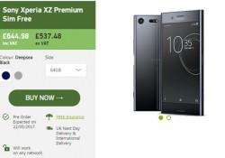 ស្មាតហ្វូនស៊េរីថ្មី Sony Xperia XZ Premium ទៅដល់ទឹកដីចក្រភពអង់គ្លេសលឿនជាងការរំពឹងទុក