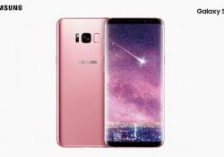 Samsung បង្ហាញស្មាតហ្វូន Galaxy S8+ ពណ៌ផ្កាឈូកដ៏ស្រស់ឆើតឆាយ ទាក់ទាញបំផុត