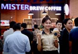 ហាងកាហ្វេ Misterbrew Coffee បានបើកសម្ពោធសាខារបស់ខ្លួនថ្មីមួយបន្ថែមទៀត ដែលមានទីតាំងនៅក្នុងផ្សារទំនើបសុវណ្ណាជាន់ផ្ទាល់ដី