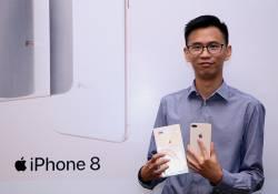 iPhone 8 និង 8 plus ផ្លូវការនៅតែមានការកម្ម៉ង់ច្រើនស្របពេលដែលចំនួនដែលក្រុមហ៊ុន Falcon Tech ព្យាករណ៍ទុកនោះបានលើសកំណត់ហើយ