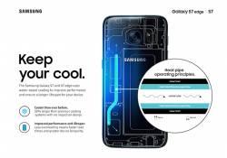 ដើម្បីសុវត្ថិភាពអ្នកប្រើប្រាស់ Samsung នៅតែបន្តប្រើប្រាស់នូវបំពង់បំភាយកំដៅសម្រាប់ស្មាតហ្វូនជាច្រើននៅឆ្នាំ 2018 ទោះបីមានតម្លៃថ្លៃក៏ដោយ
