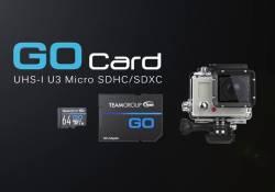 TEAMGROUP បញ្ចេញ GO Card UHS-I U3 2018 បំពាក់នូវបច្ចេកវិទ្យាថ្មី មានល្បើនលឿនក្នុងការចាប់យកវីដេអូកម្រិត Full HD និង 4K បានយ៉ាងរលូន