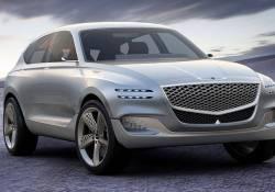 ក្រុមហ៊ុនរ Hyundai Motor នឹងបង្ហាញចេញនូវគំនិតនៃការរចនាទៅលើរថយន្តអគ្គិសនី Genesis EV នៅក្នុងព្រឹត្តិការណ៍ Motor Show នៅក្នុងទីក្រុងញ៉ូវយ៉ក