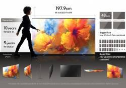 តើទូរទស្សន៍ Samsung QLED TV អេក្រង់ 88 អ៊ីង មានទំហំធំប៉ុណ្ណាទៅ?