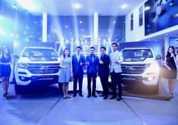 ក្រុមហ៊ុន UNITED AUTO TRADING ប្រកាសសម្ពោធរថយន្ត Pick-Up ជំនាន់ថ្មី CHEVROLET COLORADO CENTENNIAL 2018