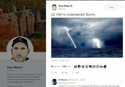"""ក្រុមហ៊ុន LG គ្រោងផលិតចេញកំពូលស្មាតហ្វូនជំនាន់ថ្មីម៉ូដែល LG V40 ដោយប្រើប្រាស់ឈ្មោះសំគាល់ម៉ូដែលថា """"Storm"""""""