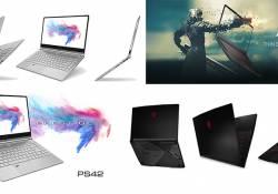 MSI GF63 និង PS42 ដែលជាកុំព្យូទ័រយួដៃស៊េរីថ្មី ដែលមានគែមស្តើងបំផុត បានក្លាយជាផលិតផលចាប់អារម្មណ៍នៅក្នុងព្រឹត្តិការណ៍ Computex 2018