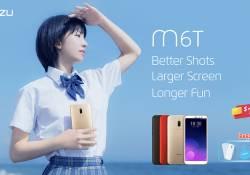 ស្មាតហ្វូនស៊េរីថ្មី Meizu M6T មកដល់កម្ពុជាហើយ តម្លៃ $153 មានថែមជូននូវកាសធំមួយ ហើយនិងអាវភ្លៀងមួយ
