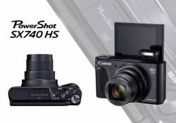 Canon PowerShot SX740 HS កាមេរ៉ាថតរូបស៊េរីថ្មីដែលពោរពេញដោយសមត្ថភាពមិនអាចកាត់ថ្លៃបាន