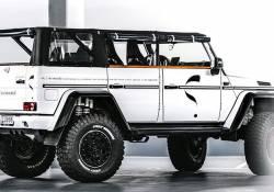 រថយន្ត Mercedes G500 4×4² Convertible កម្លាំង 850 សេះ របស់លោក Jon Olsson ច្នៃហើយពិតជាប្លែក ហើយខ្លាំង មិនធម្មតានោះទេ!