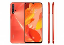 Huawei Nova 5 Pro ពណ៍ថ្មីបានបង្ហាញខ្លួននៅលើ JD រួមជាមួយនឹងវីដេអូផ្សព្វផ្សាយអំពីស្មាតហ្វូននេះផងដែរ