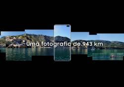 Galaxy S10+ ត្រូវបានគេជ្រើសរើសដើម្បីធ្វើការថតវីដេអូ Panorama នៃឆ្នេរសមុទ្រ 943 គីឡូម៉ែត្ររបស់ព័រទុយហ្គាល់ក្រោមគម្រោងមួយរបស់ Samsung