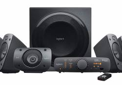 Logitech Z906 5.1 SURROUND SOUND SPEAKER SYSTEM គឺជាឈុតបំពងសម្លេងថ្មីពិតជាគួរឲ្យចាប់អារម្មណ៍មែនទែន