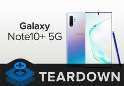 iFixit បានធ្វើការបញ្ជាក់ថា Galaxy Note 10+ 5G គឺជាស្មាតហ្វូនដែលមានសមត្ថភាពអស្ចារ្យបំផុត