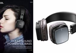 """មកដល់ថ្មី Hoco Headphones """"W20 Gleeful"""" កាសស្តាប់ត្រចៀកឥតខ្សែរល្អ ទាំងគុណភាព និងមានសមត្ថភាពខ្ពស់"""