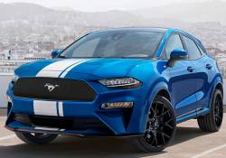 Ford Mustang Crossover បង្ហាញរូបរាងថ្មី មើលទៅពិតជាមានរូបរាងស្អាតមែនទែនលើលពីការរំពឹងទុក