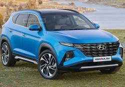 បែកធ្លាយរូបភាពរថយន្តស៊េរីថ្មី Hyundai Tucson 2021 មើលទៅពិតជាប្លែក និងស្រស់ស្អាតខ្លាំងមែនទែន!