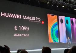 ស្មាតហ្វូនជំនាន់ថ្មី Huawei Mate 30 series បានបង្ហាញខ្លួនជាផ្លូវការហើយ រូបរាងក៏អេម កាមេរ៉ាក៏ខ្លាំង រីឯតម្លៃក៏....