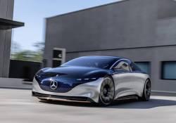 Mercedes បញ្ចេញនូវគំនិតនៃការឌីស្សាញទៅលើរថយន្តប្រណិត Mercedes-Benz VISION EQS នេះ ពិតជាអស្ចារ្យប្លែកមែនទន