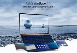 ASUS Zenbook UX434 កុំព្យូទ័រយួរដៃថ្មី ដែលមានរចនាបទស្អាតទំនើបប្លែក បានមកដល់ប្រទេសកម្ពុជាហើយ