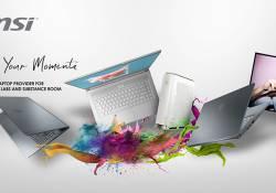 ជំរុញដំណើរការប្រកបដោយភាពច្នៃប្រឌិតរបស់អ្នកជាមួយ MSI Creator Laptop