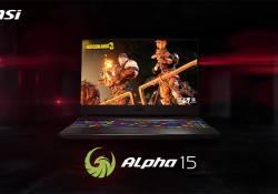 MSI ប្រចាំនៅកម្ពុជា បានបញ្ចេញនូវកុំព្យូទ័រយួរដៃហ្គេមស៊េរីថ្មី Alpha 15 ដែលប្រើប្រាស់នូវក្រាហ្វិកកាតថ្មី AMD Radeon ដំបូងបំផុត