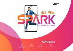 ស្មាតហ្វូនស៊េរីថ្មី Tecno Spark 4 Air មានតម្លៃត្រឹមតែ 119 ដុល្លាទេ រាងក៏ស្អាត ពណ៍ក៏ស្រស់ សមត្ថភាពនោះក៏មិនណយដែរ!