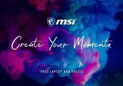 """ក្រុមហ៊ុន MSI ប្រកាសរៀបចំព្រឹត្តិការណ៍ប្រកួតប្រជែងថតរូបដំបូងរបស់ខ្លួន ក្រោមប្រធានបទថ្មី """"Create your moment"""""""