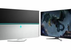 Alienware AW5520QF គឺជាម៉ូនីទ័រលេងហ្គេមអេក្រង់ធំអស្ចារ្យបំផុត មានសមត្ថភាពបង្ហាញចេញកម្រិត 4K ជាមួយកម្រិត Refresh Rate 120Hz