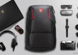 MSI Urban Raider Gaming Laptop Backpack កាបូបស្ពាយដ៏ទាន់សម័យលេចធ្លោរសម្រាប់អ្នកលេងហ្គេម