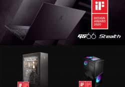 ក្រុមហ៊ុន MSI បានបញ្ចេញនូវផលិតផលថ្មីចំនួន 3 របស់ខ្លួន ដែលបានឈ្នះពានរង្វាន់ iF Design Award 2020
