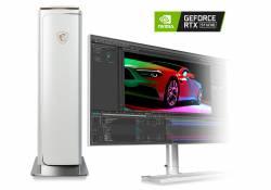 MSI Prestige P100 Series នឹងបង្កើតនូវសមត្ថភាពកាន់តែអស្ចារ្យ បន្ទាប់ពីទទួលបានវិញ្ញាបនប័ត្រពី NVIDIA RTX Studio