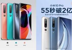 ត្រឹមតែរយះពេល 55 វិនាទីប៉ុណ្ណោះ កំពូលស្មាតហ្វូន Xiaomi Mi 10 Pro លក់អស់រលីង លឿនជាង Mi 10 ទៅទៀត