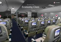 ទំនើបហួស! ប្រើតែទូរស័ព្ទអាចចូលមើលសព្វកន្លុកកន្លៀតខាងក្នុងយន្តហោះ Emirates គ្មានសល់សូម្បីតែបន្ទប់ស៉្បា (មានវីដេអូ)