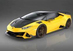 Lamborghini បញ្ចេញនូវរថយន្តស៊េរីទំនើបថ្មី Huracan Evo នេះ ដែលច្នៃរូបរាងឡើងពី Carbon Fiber 100% ពិតជាប្លែកភ្នែកទៀតហើយ!