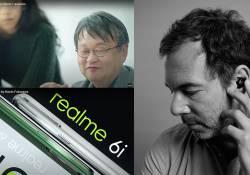 ការរចនារូបរាង ដ៏ពេញនិយមរបស់ realme គឺជាស្នាដៃសហការគ្នារវាងអ្នករចនាម៉ូតដ៏ល្បីចំនួនពីររូបនេះហើយ គឺលោក Naoto Fukasawa និងលោក José Lévy