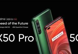 realme X50 Pro Dual 5G ស្មាតហ្វូន Flagship សាកសមនឹងយុវវ័យ នឹងមកដល់ប្រទេសកម្ពុជា ឆាប់ៗនេះហើយ