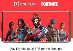 OnePlus 8 ត្រូវបានគេចាត់ថា គឺជាស្មាតហ្វូនដំបូងបំផុត ដែលដំណើរការនូវហ្គេម Fortnite នៅក្នុងកម្រិត 90fps