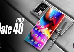 ស្មាតហ្វូនស៊េរីថ្មី Huawei Mate 40 Pro នឹងមានអេក្រង់ BANGS SCREEN សម្រាប់ទ្រទ្រង់ទៅលើបច្ចេកវិទ្យាស្កេនមុខ