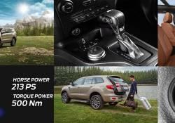តោះមកដឹងពីចំណុចសំខាន់ទាំង 6 ដែលក្រុមហ៊ុនបានធ្វើការផ្លាស់ប្តូរថ្មីនៅលើរថយន្ត Ford Everest 2.0L Bi-Turbo ជំនាន់ថ្មី!