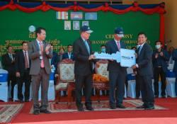 """ក្រុមហ៊ុន RMA Cambodia ប្រារព្ធពិធី""""ប្រគល់រថយន្ត Ford ចំនួន 4 គ្រឿង និងដាក់ឲ្យដំណើរការកម្មវិធីបណ្តុះបណ្តាលបច្ចេកវិទ្យារថយន្ត Ford"""" នៅវិទ្យាស្ថានបច្ចេកទេសឧស្សាហកម្ម"""