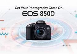 Canon EOS 850D គឺជាកាមេរ៉ា DSLR ស៊េរីថ្មី ដែលពោរពេញដោយសមត្ថភាព ដែលមានតម្លៃសមរម្យបំផុតនៅក្នុងការប្រើប្រាស់