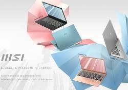 MSI ប្រកាសជាផ្លូវការនូវកុំព្យូទ័រយូរដៃប្រភេទថ្មី Business Laptops ដែលប្រើប្រាស់នូវឡូហ្គោថ្មីប្លែកពីម៉ូដែលមុនៗ