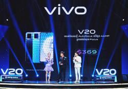 ស្មាតហ្វូន vivo V20 តម្លៃត្រឹម $369 ប៉ុណ្ណោះ! បើកធ្វើការ Pre-Order ភ្លាមទទួលបាននូវការគាំទ្រយ៉ាងខ្លាំងពីសំណាក់អតិថិជនជាច្រើន