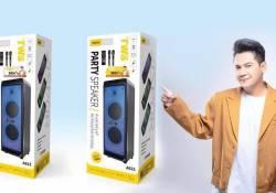 មកដល់ហើយ Speaker Karaoke ជំនាន់ទី 3 របស់ ASPOR បំពាក់នូវបច្ចេកវិទ្យាកាន់តែទំនើបជម្រើសដ៏ពិសេសសម្រាប់ការកម្សាន្តតន្រ្តី និងខារ៉ាអូខេ!!