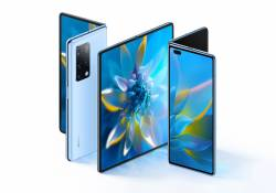 Huawei Mate X2 មានការឌីស្សាញអេក្រង់ក្រៅក្នុង ប្រើបន្ទះឈីប Kirin 9000 កាមេរ៉ាក្រោយទំហំ 50MP និងបច្ចេកវិទ្យាសាកភ្លើង Super-Fast Charge 55W